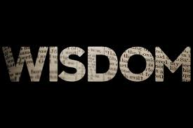 wisdom black and white